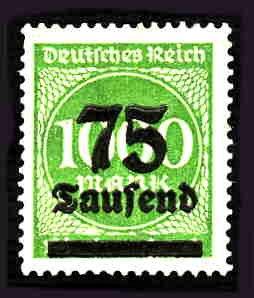 German MNH Scott #252 Catalog Value $.40