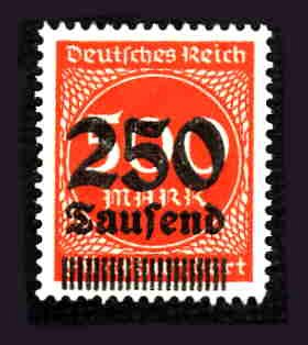 German MNH Scott #260 Catalog Value $.40