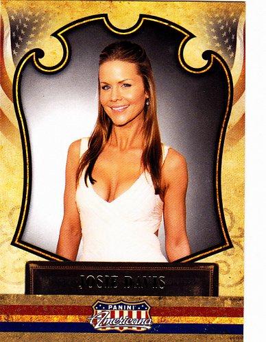 Josie Davis #13 - Panini Americana 2011 Trading Card