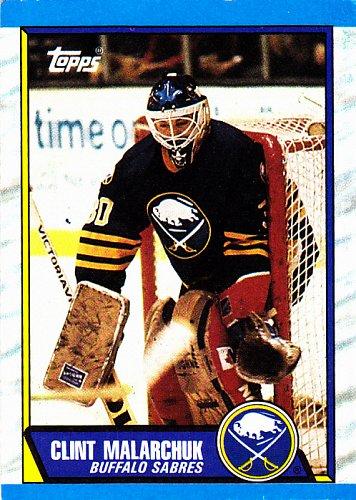 Clint Malarchuk #170 - Sabres 1989 Topps Hockey Trading Card