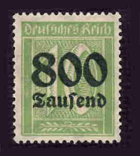 German MNH Scott #262 Catalog Value $.38