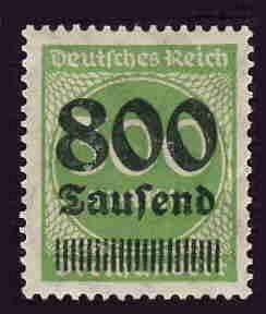 German MNH Scott #264 Catalog Value $.38