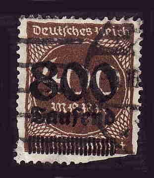 German Used Scott #265 Catalog Value $14.50