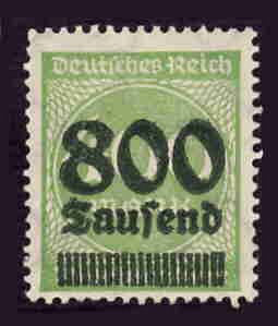 German MNH Scott #266 Catalog Value $.38