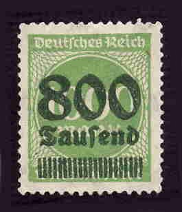 German MNH Scott #268 Catalog Value $.38