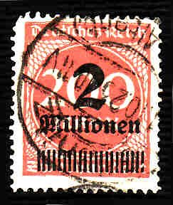 German Used Scott #269 Catalog Value $2.25