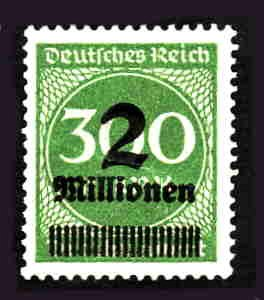 German MNH Scott #270 Catalog Value $.38