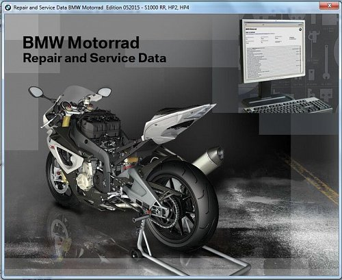 2008-2015 BMW F800GS / F 800 GS Adventure RepROM Service Manual on a DVD