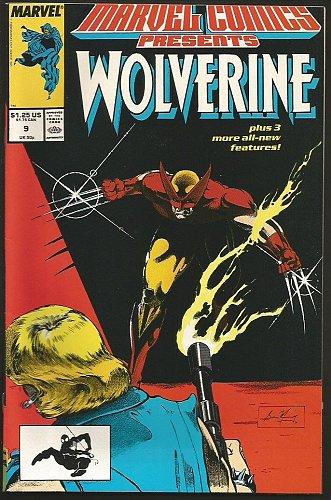 LOGAN, Wolverine Marvel Comics Presents #9 Marvel Comics High Grade VF/+