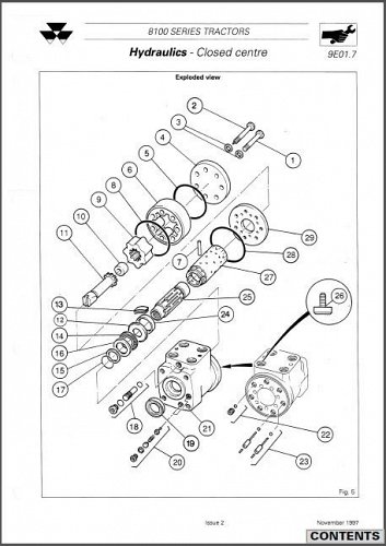 Massey Ferguson 8100 Series ( 8110 8120 8130 8140 8150 8160 ) Service Manual CD
