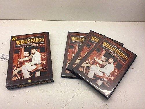 Tales of Wells Fargo DVD Dale Robertson William Demarest Eddie ALBERT Jack GING