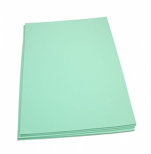 Craft Foam Sheets--12 x 18 Inches -Mint- 5 Sheets-2 MM Thick