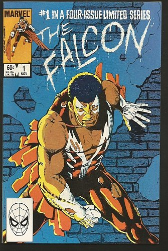 FALCON #1, 2, 3,4 (Set) limited series Marvel Comics'84 Bright1st Print&SeriesVF