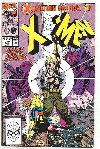 The UNCANNY X-MEN #270 Marvel Comics 1990 High Grade VF/NM