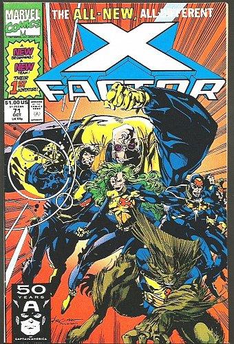 X-FACTOR #71 Version VF-/VF+ Marvel Comics Original X-men Characters 1st Print