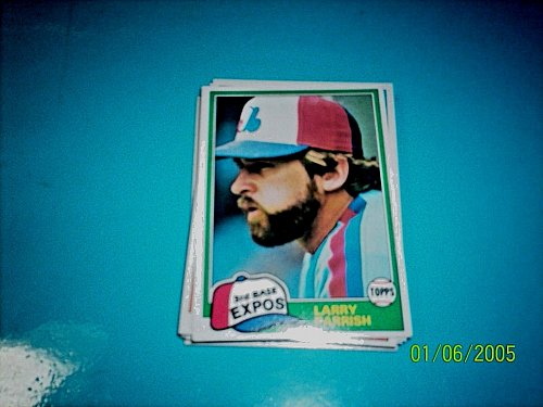 1981 Topps BASEBALL CARD OF LARRY PARRISH #15 MINT FREE SHIPPING