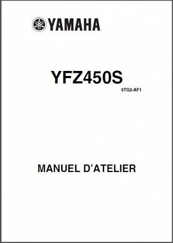 04-08 Yamaha YFZ450 ATV Service Repair Manual CD - YFZ450S English & French