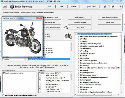 2014-2015 BMW R nineT ( Scrambler ) RepROM Service Manual on a DVD -- R nine T