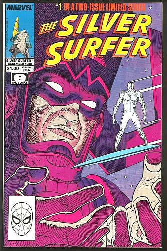 Silver Surfer #1 Moebius 1st print MARVEL Comics 1988 GUARDIANS OF THE GALAXY