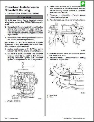 Mercury & Mariner 135 / 150 / 175 / 200 / 225 Outboard Motors Service Manual CD