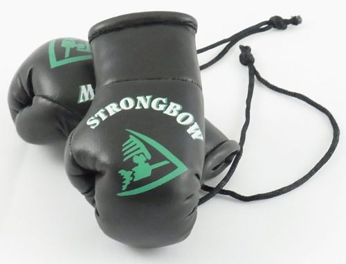 Strongbow Mini Boxing Gloves (Ideal for rear view Mirror or end of the Bar)