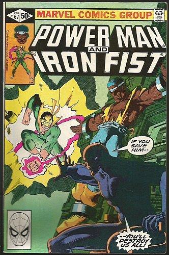 Power Man and Iron Fist #67 Marvel Comics VF- 1981 MARY JO DUFFY GAMMILL