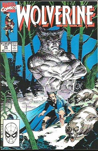 Wolverine #25 VF/NM- Marvel Comics 1990