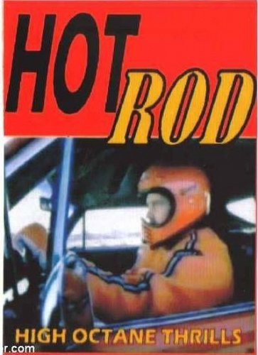 HOT ROD High Octane Thrills DVD - Rare,hard to find (HTF) and out of print (OOP)