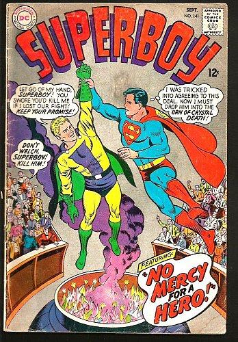 SUPERBOY 141 DC Comics 1967 Silver Age VG/+ range