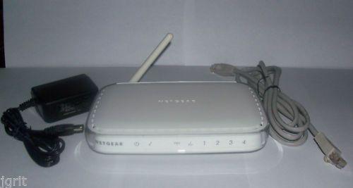 NetGear WGR614 v.10 Wireless G Router internet ethernet PC MAC 54mbps version 10
