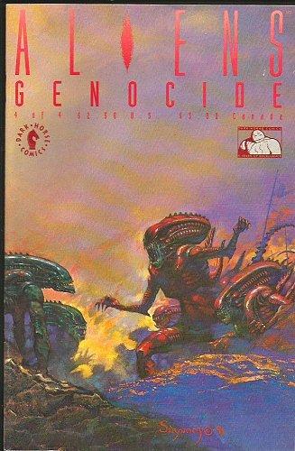 Aliens Genocide #4 Suydam Cover Dark Horse Comics 1992 NM- High Grade