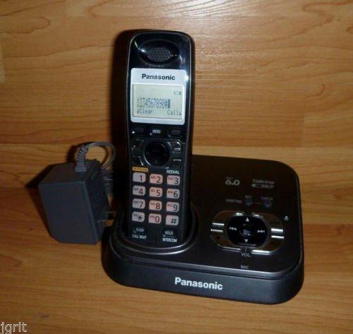 PANASONIC KX TG9331T caller ID 6.0 DIGITAL LCD CORDLESS PHONE KX TG9333T