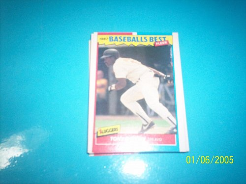 1987 Fleer Baseballs Best Sluggers Vs Pitchers TONY GWYNN #17 FREE SHIP