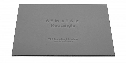 """Rectangle - 6.5"""" x 9.5""""- 1/4"""" Thick Clear Acrylic-Quilting, Sewing, Crafts"""