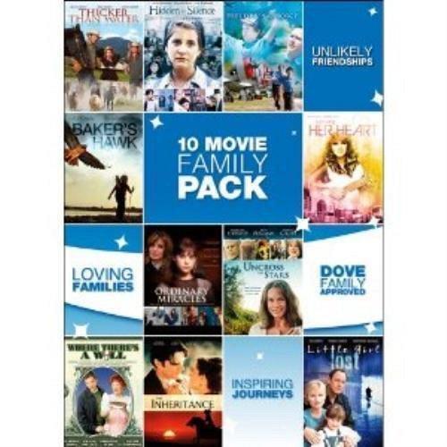 10Movie DVD The Inheritance,Baker's Hawk,Little Girl Lost BURL IVES Jacyln SMITH