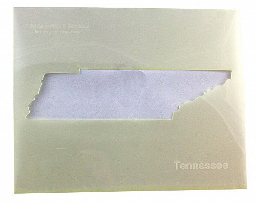 State of Tenessee Stencil -14 mil Mylar Painting/Crafts