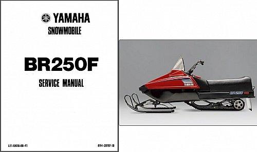 1995-2005 Yamaha BR250 Bravo 250 Snowmobile Service Repair Manual CD - BR250F BR