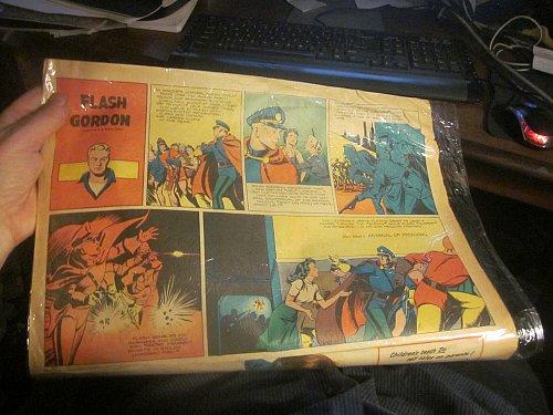 Sunday Newspaper Comics FLASH GORDON June 25, 1944 Raboy, Don Moore