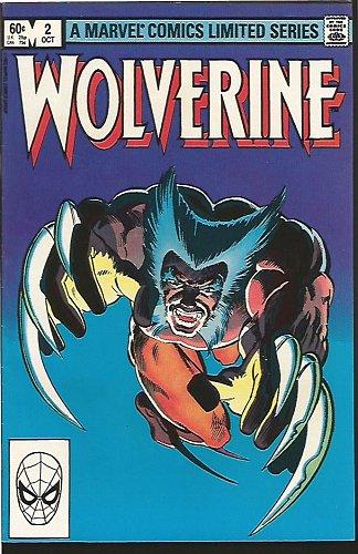 Wolverine #2 Marvel Comics 1st print 1st Series Frank Miller