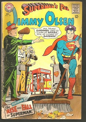 Superman's Pal JIMMY OLSEN #107 Silver Age DC COMICS 1967 VG+ range or better