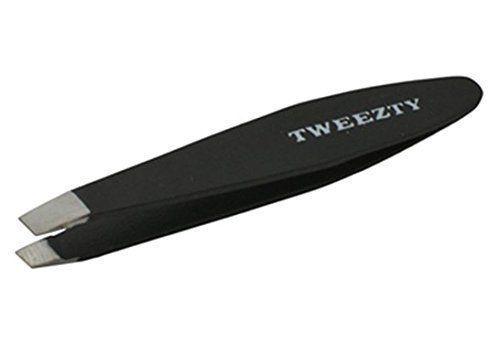 Tweezty Mini Slant Tweezers black