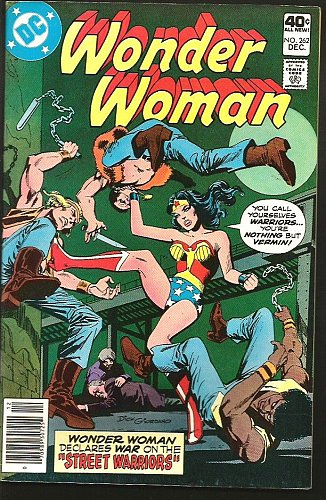 WONDER WOMAN #262 VF- or better DC Comics 1979 Conway Estrada Delbo Tight