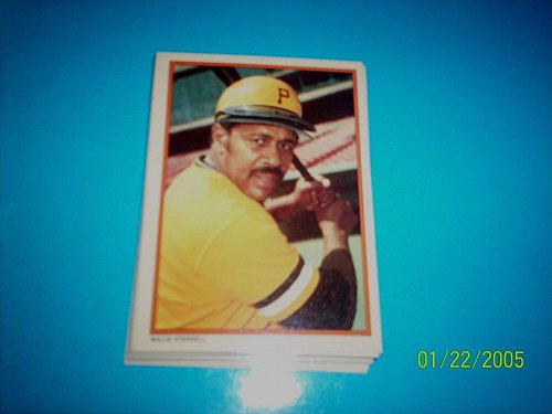 WILLIE STARGELL #16 1985 Topps Circle K All Time Home Run Kings Baseball Card