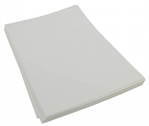 Craft Foam Sheets--12 x 18 Inches -White- 5 Sheets-2 MM Thick