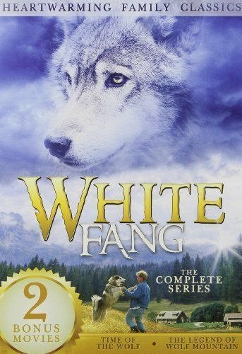 2movie DVD WHITE FANG,Time of the Wolf,Legend of Wolf Mountain,Jason PRIESTLY
