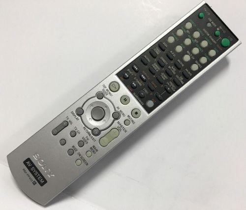 SONY RM PP412 Remote Control - STR DE695 STR K750 STR K850 HT 6600DP HT DDW750
