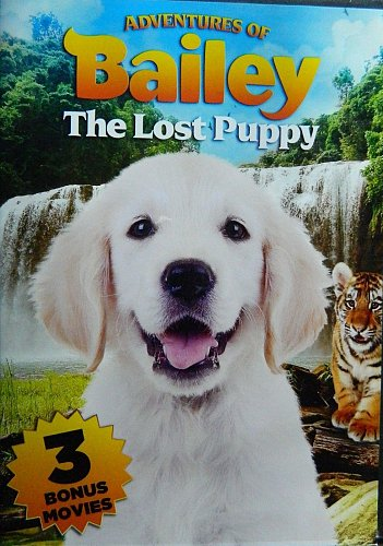 4movie color DVD Adventures of BAILEY,Little Heroes,RAGTIME,Pets to the rescue