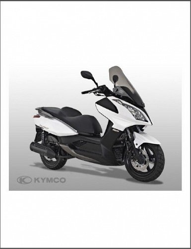 Kymco Downtown 300i Scooter Service Repair Workshop Manual CD -- 300 i