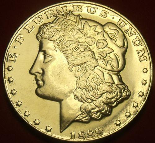 1889-CC Tribute Proof Morgan Dollar~Free Shipping