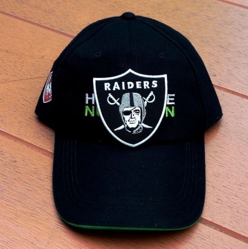 NFL Oakland Raiders Football Logo embroidered iron on patch free shipping